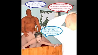 3D Comic: Slut Wife Invites Boss Into Home For Cuckold To Watch Part 3
