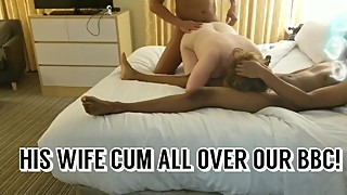 OUR SPRING BREAK WIFE BBC GANGBANG! MILF POV BIG TITS MOM 4K BOOBS