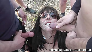 "Slutwife Marion a€"" The Queen of Cum"