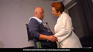 HAUSFRAU FICKEN &ndash_ Amateur sex session with kinky mature BBW