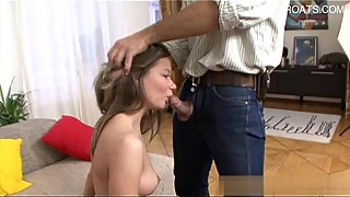 Hot wife pussy eating