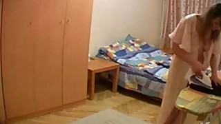 Hidden Cam in Wife'_s Room: More on naughty-cam.com