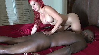 Lexigton Steele receive a sensual massage by his wife