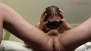 Deepthroat - cheating wife punished