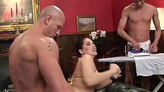 Bull fuck with my wife:cuckold humiliation