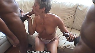 MILF House Party Big Black Cock Orgy