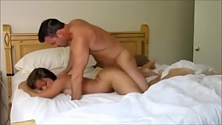 Hot cheating wife fucked like a doggy