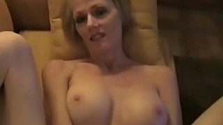 POV With Amateur Horny Granny