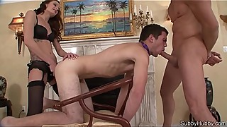 Jessica'_s Boyfriend is a Cuckold