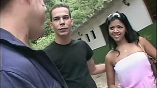XXXBisexual Couple Meet a StrangerXXX Latino