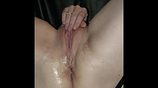 Bruised After Rough Sex Wife Solo Fingers In Pussy and Asshole