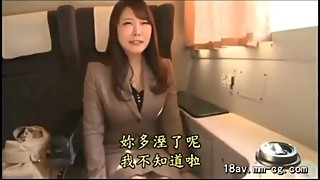 Japanese wife cheating her husband!! Creampie