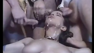 Wife gangbanged by husband's business associates