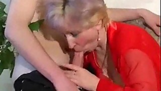 Blonde chubby Russian MILF