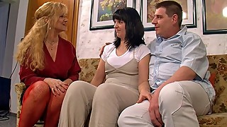 Shy wifes first threesome