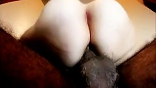 Hairy amateur wife starfish anus needs second cock dp swinger