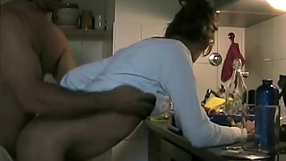Cheating Wife from CasualMilfSex.com Kitchen Fuck Porn Video
