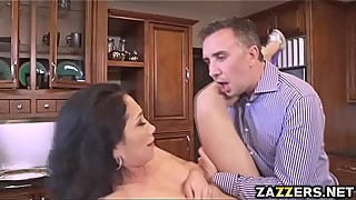 Latina Vicki got her ass spanked and banged