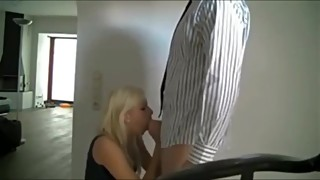 Blond Wife cheats and films