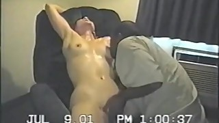 Real Wife Recorded Becoming A BBC Slut In 2001 Home Cuckold