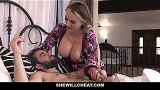 SheWillCheat - Horny Wife Plowed by Husbands Employee