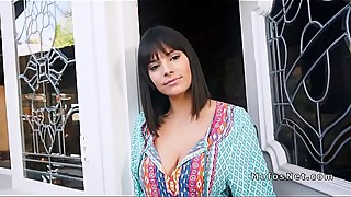 Busty Latina wife bangs stranger
