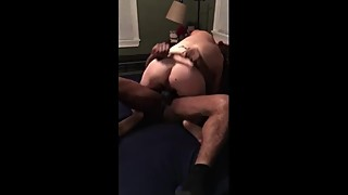 Slut wife riding BBC