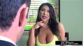 Curvy Exotic August Taylor Cheats On Her Husband