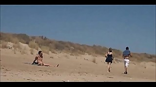 Couple Split By Strangers And Fucks Her Nude Beach BestWomenOnly.com/w3y7 &lt_-- Part2 Watch Here