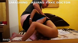 FAKE DOCTOR tricks chinese milf