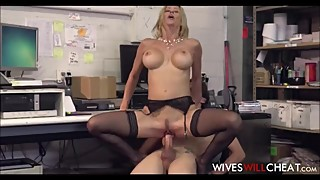 Cheating Big Tits And Ass Boss Wife Alexis Fawx Fucks Young New Hire