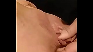 Cheating wife fingers pussy and asshole
