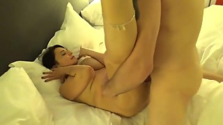 German housewife gets fucked and facialized
