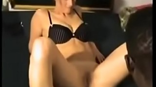 Well Trained Wife Spread her Legs for BBC while Cuckold Films