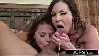 Horny Married Couple Fuck Their Son'_s Girlfriend - Adriana Chechik, Kendra Lust