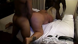 40y Wide Hips Foxy Kitty Ass Fucked at Swinger Party