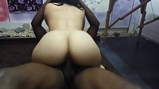 Wife taking black cock in fromt of husband