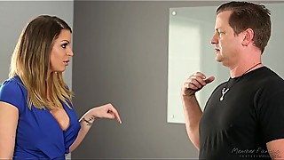 Wife cheating with the ex-husband - Brooklyn Chase
