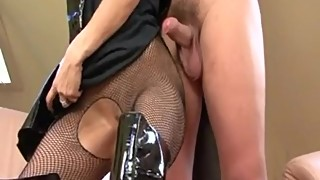 Strict wife calls dominatrix to train hubby