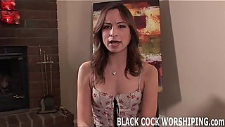 I want to treat myself to really big black cock