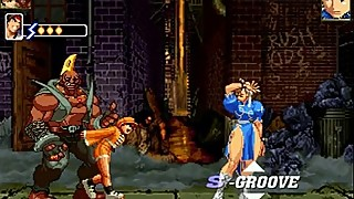 MuGeN (Ep 25)-(GangBang)-(- Chun Li'_s Fucked in the Alley!!! -)