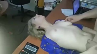 Wife Fucks Her Lover On Table - Amazing Titty Wife Cheats Her Husband.